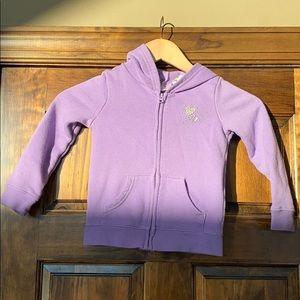 Jumping Beans 4T zip up sweatshirt